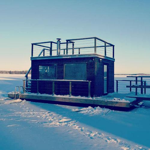 Bastuflotte till Sjöstugans Camping i Älmhult