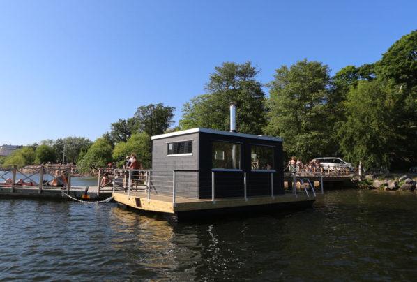 Bastuflotte till Tanto bastuförening på Södermalm