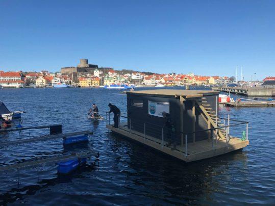 Marstrands havshotell bastuflotte