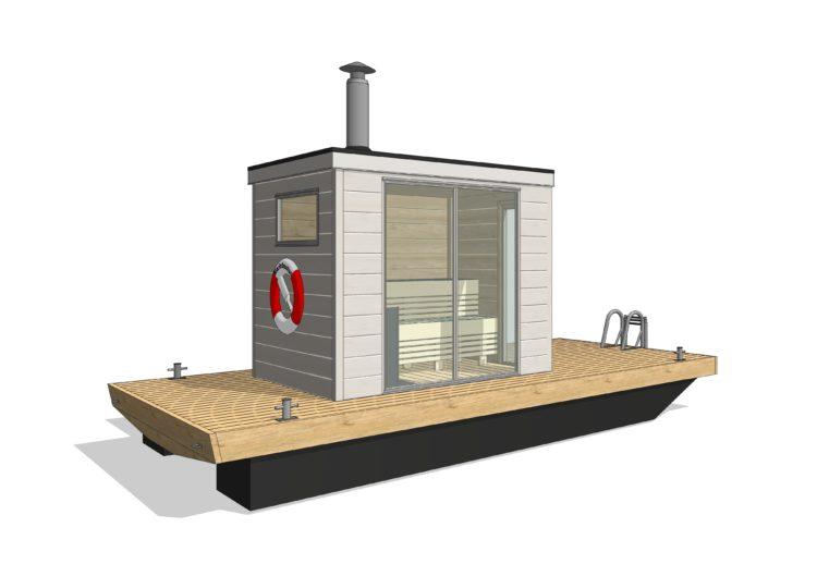 Bastuflotte Wilgot Mini - Marinbastun