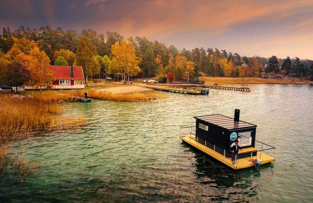 Leverans till Almåsa Havshotell