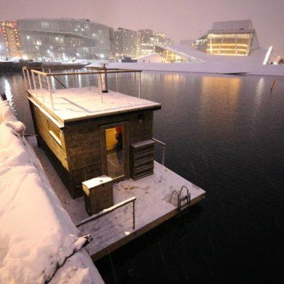 Badstubåten Oslo fra Marinbastun