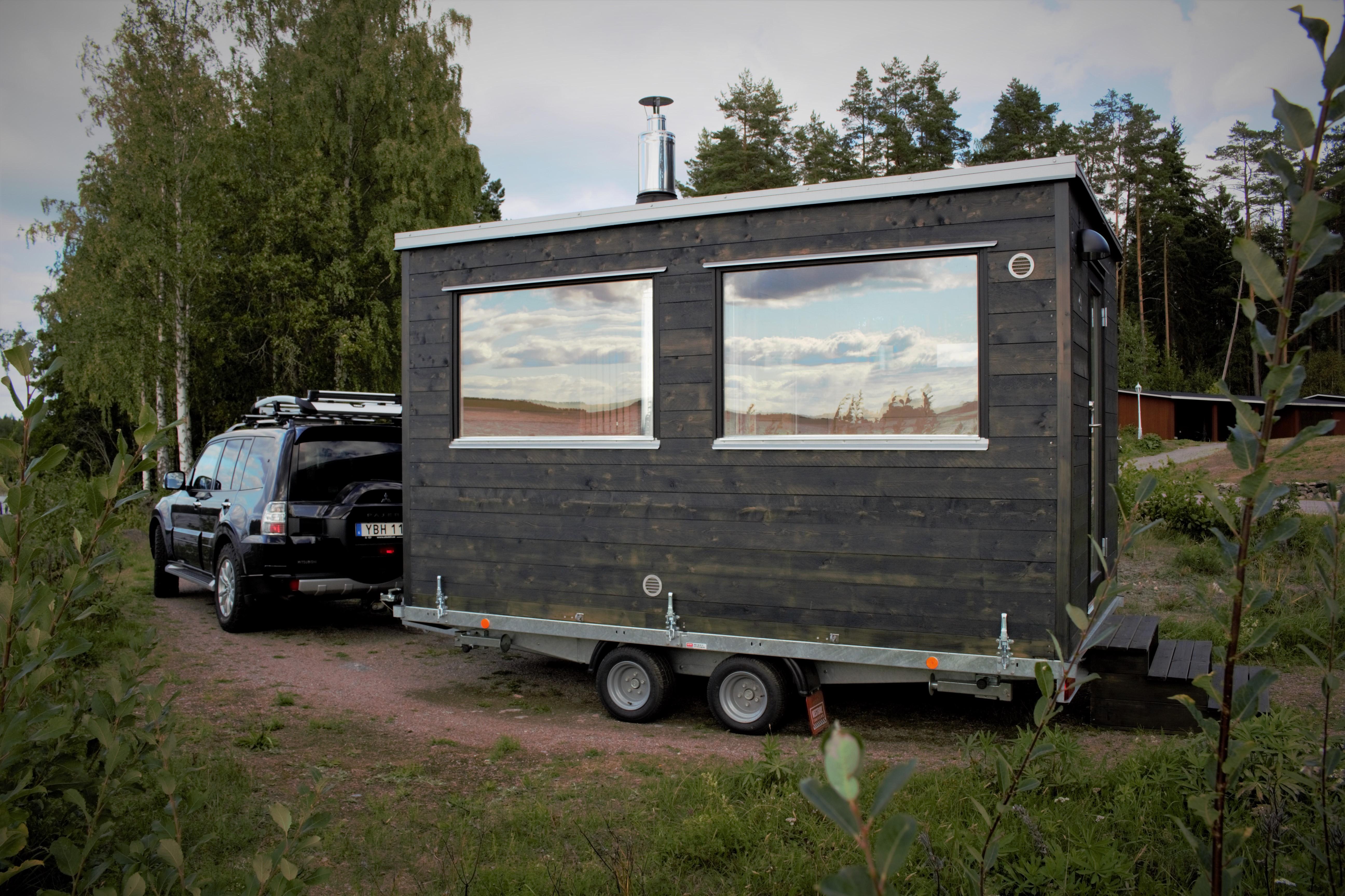 Bastu på vagn - Marinbastun