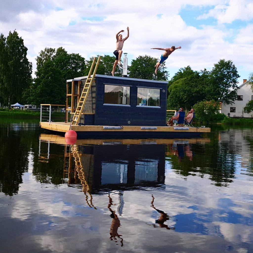 Bastuflotte demoex till salu