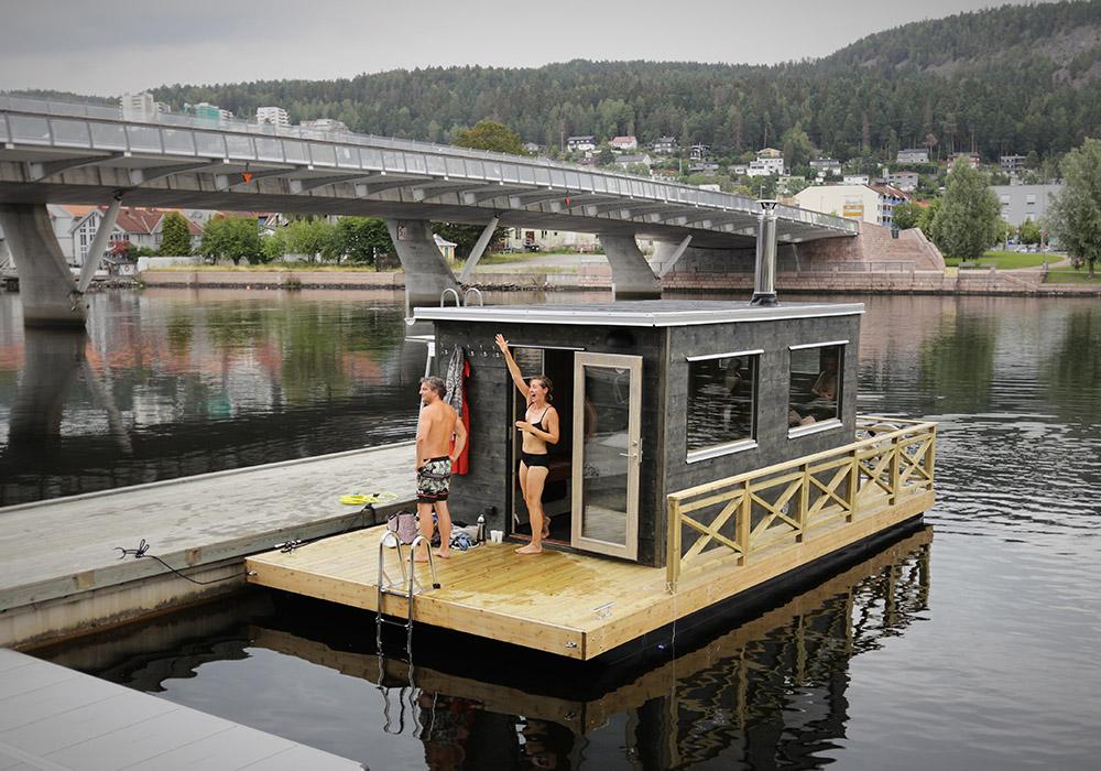 Bastubåt Frank XL till Norge