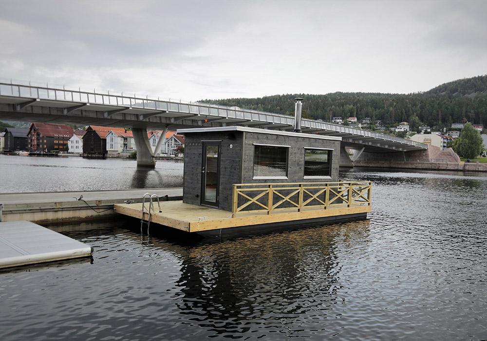 Bastubåt Frank XL levererad till Norge sommaren 2020