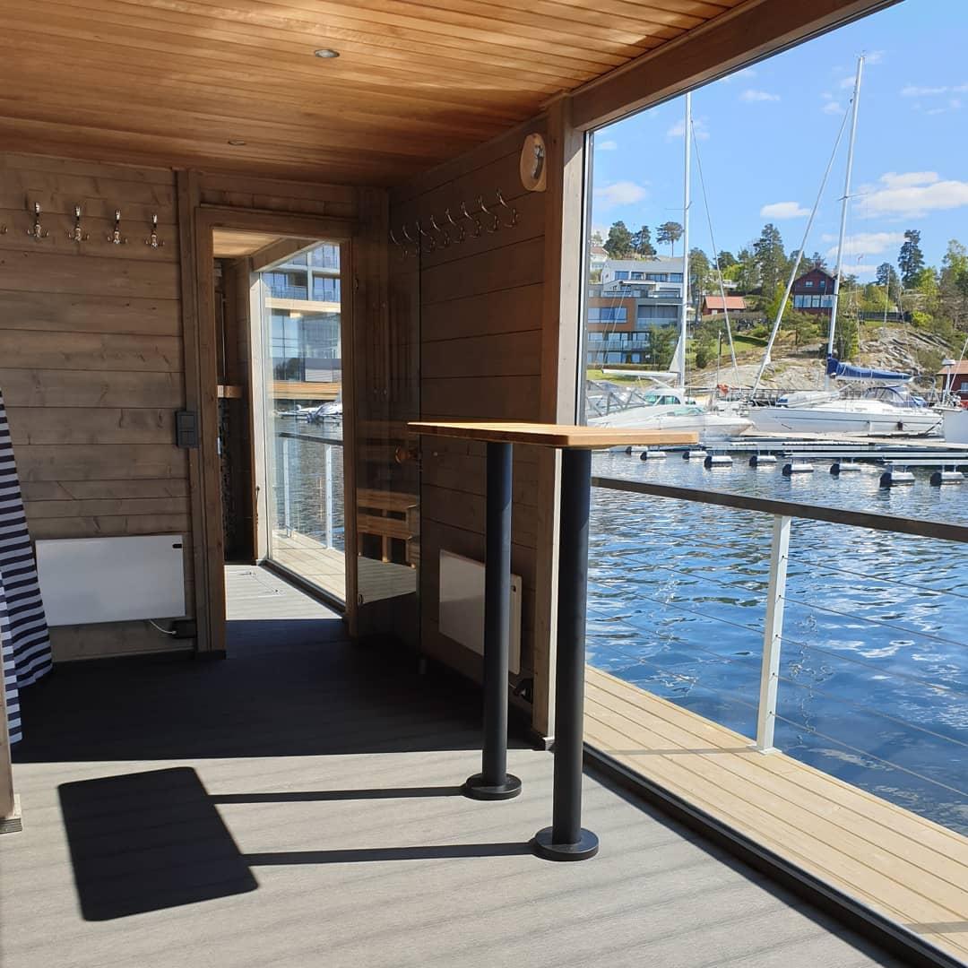 Badstueflåte til Son Spa i Norge