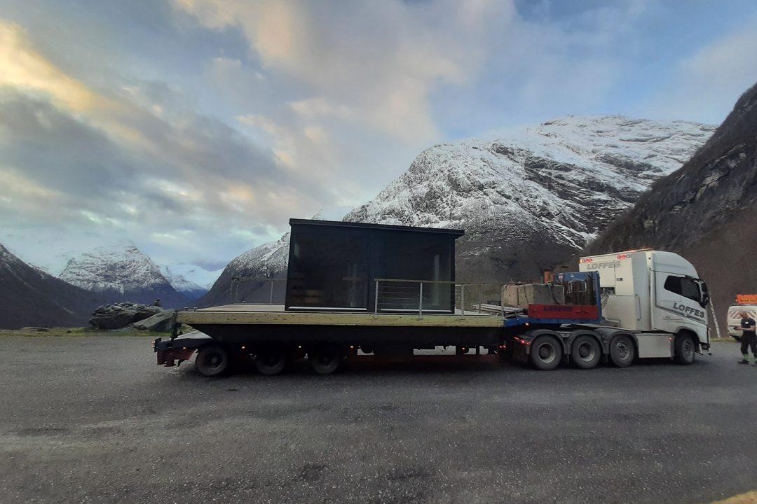 Leverans av basstubåt till Norge från Marinbastun