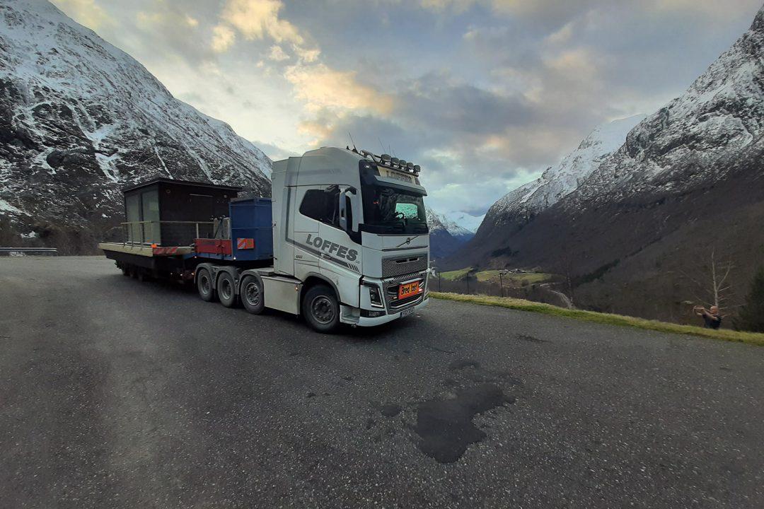 Leverans till Knutholmen AS i Norge – från Marinbastun