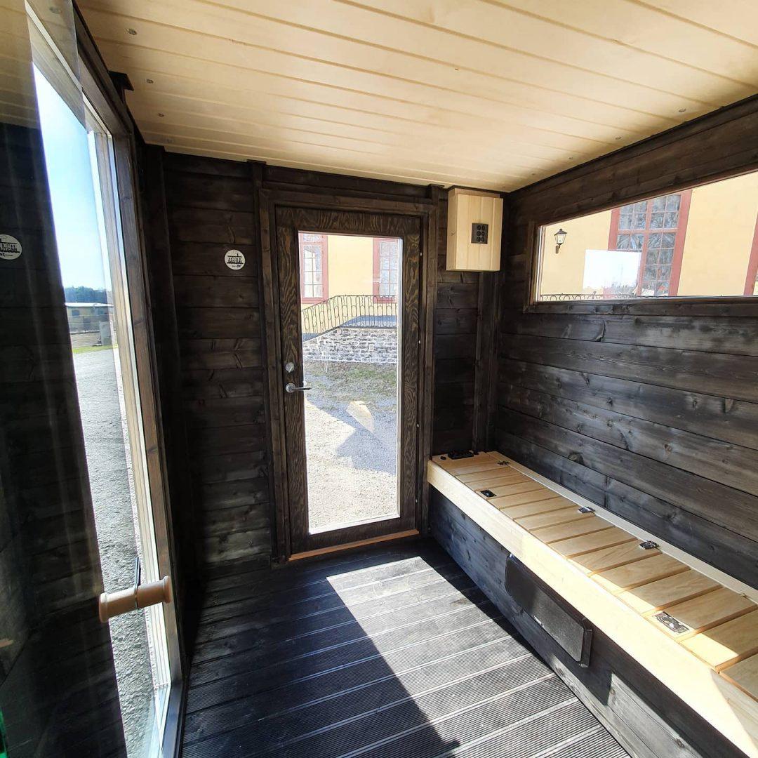 Bastutrailer från Marinbastun levereras till Stockholm