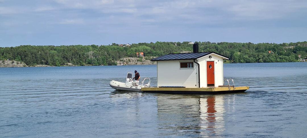 Bastuflotte, komplett och färdig för att användas