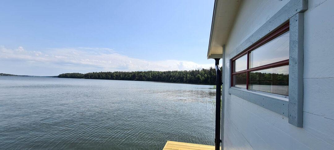 Bastuflotte utsikt
