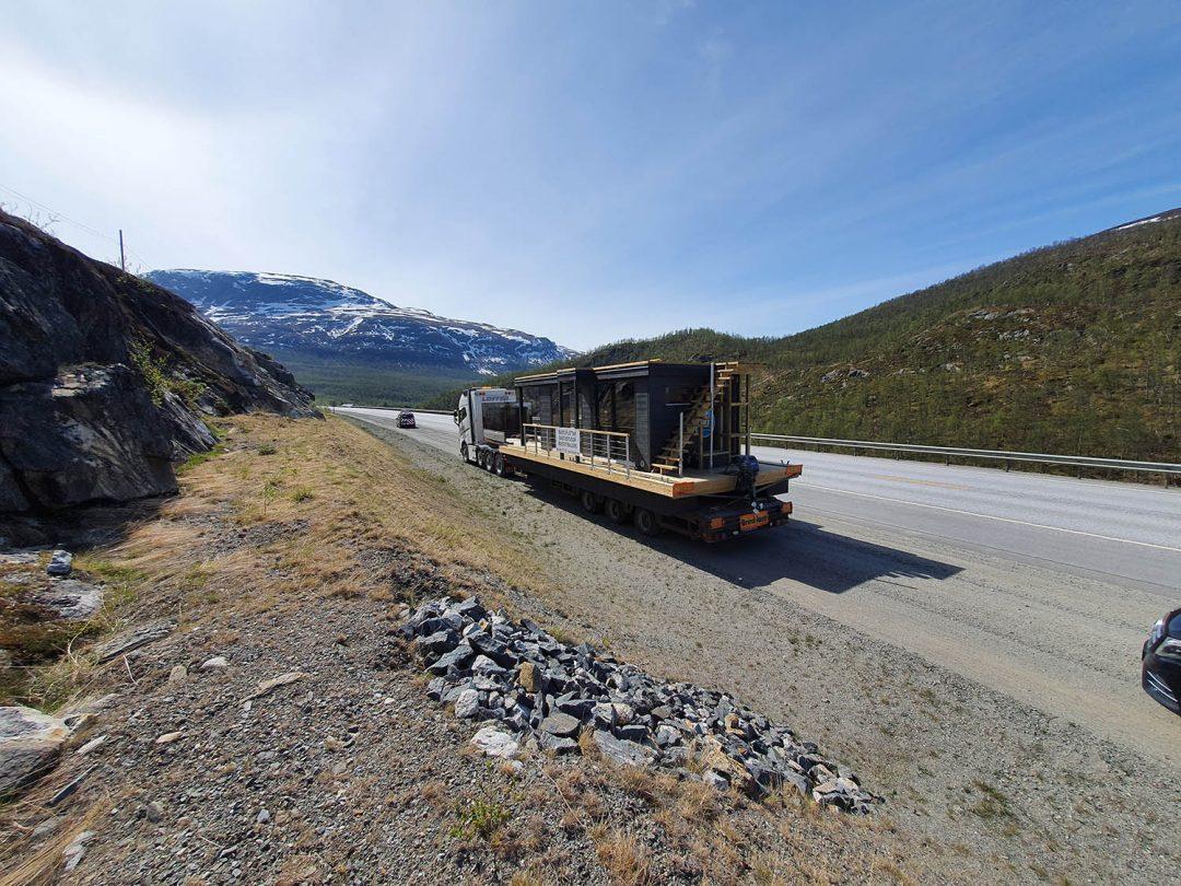Leverans till Norge av bastubåt Melvin – Marinbastun