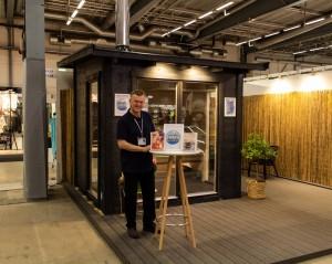 Bastustuga på Nordiska Trädgårdar 2019 - Marinbastun