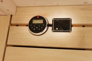 Marinstereo och 12 volts samt usb-uttag